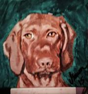 Painted Hound Dog